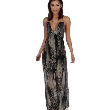 Charcoal Most Wanted Maxi Dress