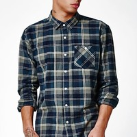 Everett Plaid Flannel Long Sleeve Button Up Shirt
