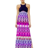 Alice & Trixie Nia Maxi - Sunset Mayan Moire