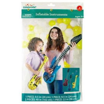 Inflatable Instruments Party Favors Set ( Case of 36 )
