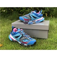 2019 Balenciaga Triple S Trainers Blue/Purple Sneakers 35-45