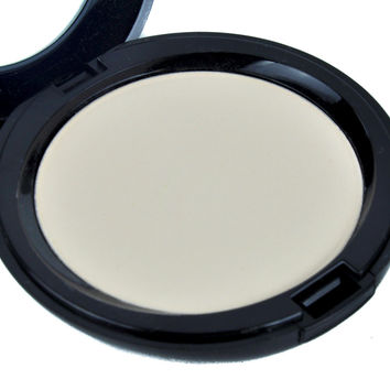 Light Natural Goth Shimmer Pressed Powder Compact Gothic Face Makeup