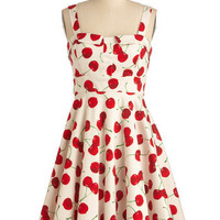 Pull Up a Cherry Dress | Mod Retro Vintage Dresses | ModCloth.com