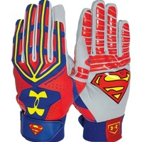 Under Armour Adult Superman Alter Ego Motive Batting Gloves   DICK'S Sporting Goods