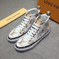 DCCK LV   Fashion Men Casual Running Sport Shoes Sneakers Slipper Sandals High Heels Shoes