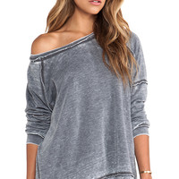 Free People Never Can Tell Pullover in Gray
