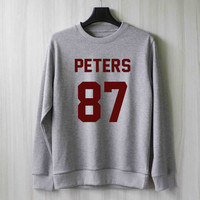 Peters 87 Evan Peters Sweatshirt Sweater Shirt – Size XS S M L XL