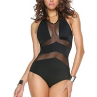 Chevron Illusion Monokini