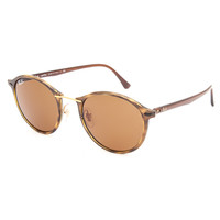Ray-Ban Tech Round Sunglasses Tortoise One Size For Women 27206840101