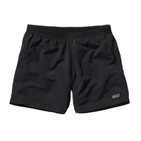"Patagonia Women's Baggies 5"" Shorts- Black"