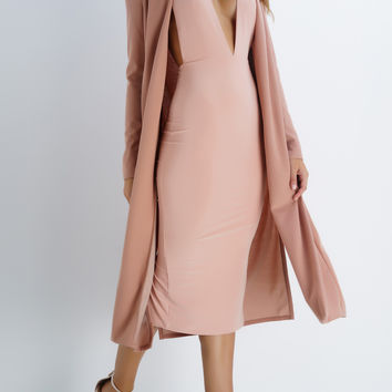 Bombshell Duster Cardigan - Pink