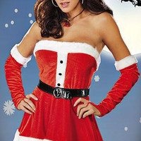 Women's Christmas Fancy Suit Costume Xmas Outfit = 4427545732