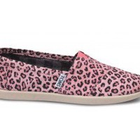 Pink Leopard Youth Vegan Classics