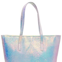 Holographic Insulated Cooler Lunch Tote Bag