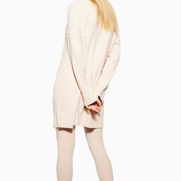 Brushed Ribbed Lounge Robe | Topshop