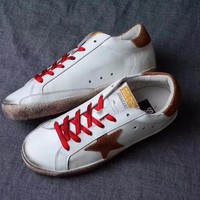 GGDB / Golden Goose Deluxe Brand Uomo / Donna Superstar Brown Women Sneakers - Best Deal Online