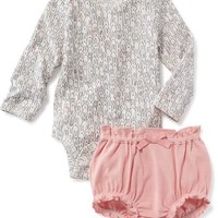 2-Piece Bunny Bodysuit & Bloomer Set for Baby | Old Navy