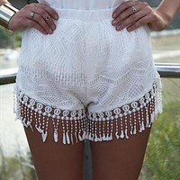 Tassel shorts from xeniaeboutique