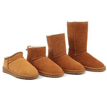 UGG Hot Selling Classic Short Snow Boots Casual High Top Warm Boots