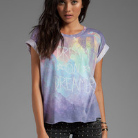 Wildfox Couture Dream On Jagged Edge Tee