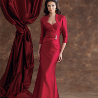 Mother of the Bride Dresses – Montage by Mon Cheri 110924 Silk Shantung Suit