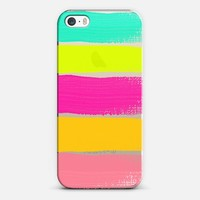 A NEON SUMMER iPhone 5s case by Rebecca Allen | Casetagram