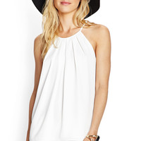 Tie-Back Pleated Cami