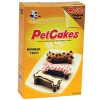 Lucky Paws Pet Cakes Refill Carob for Dogs