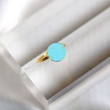 Voyager Ring- Turquoise