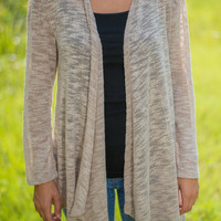 Reserved For Me Cardigan, Tan