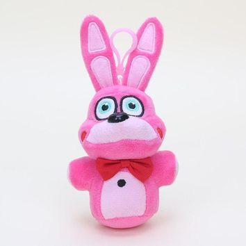 at  Sister Location Plush dolls Bonnet Bonnie Funtime Freddy Foxy  plush Toys Pendants Keychains Dolls