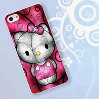 Hello Kitty for iPhone 4/4S, iPhone 5/5S, iPhone 5C, iPhone 6 Case - Samsung S3, Samsung S4, Samsung S5 Case