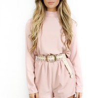 Pink Perfect Pastel Romper