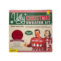 Ugly Christmas Sweater Kit Red  In Sizes