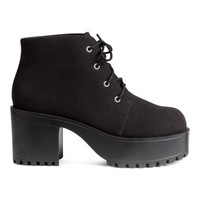 H&M Platform Shoes $39.99
