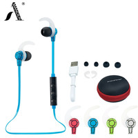 AmericaMande BT9 Wireless Bluetooth 4.1 Earphone Headset Headphone Microphone Sport Earphone Headphones for iPhone Android Phone