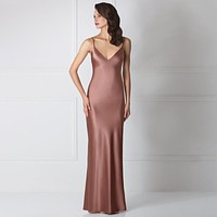 Luxury Powerful Maxi Silk Nightdress Amoralle