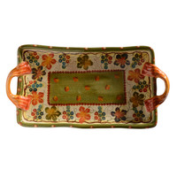 Terre Di Chianti Tray with Handles