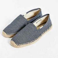 Soludos Denim Stripe Slip-On