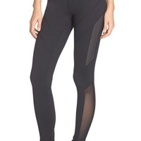 Women's Zella 'Live In' Mesh Inset Leggings,