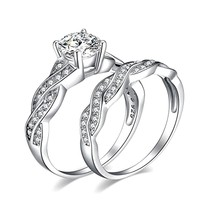 Anniversary Promise Wedding Band Engagement Ring