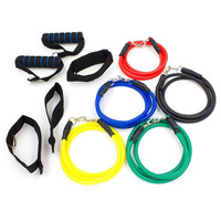 Enhanced Version Resistance Bands Practical Fitness Belt Force Workout Pull Rope Exercise Cordage = 1932464708
