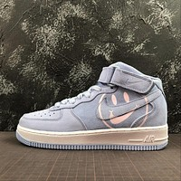 Nike Air Force 1 Mid AF1 Space Purple Have A Nike Day Fashion Shoes