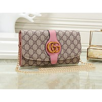 GUCCI fashionable monochrome printed shoulder bag hot seller of casual lady shopping bag #1