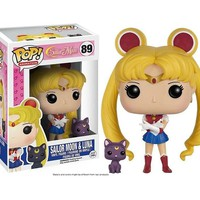 Funko POP Sailor Moon & Luna PVC Action Figure Vinyl Toy - New in Box and no Box