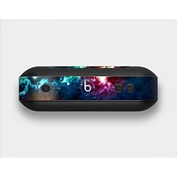 The Glowing Colorful Space Scene Skin Set for the Beats Pill Plus