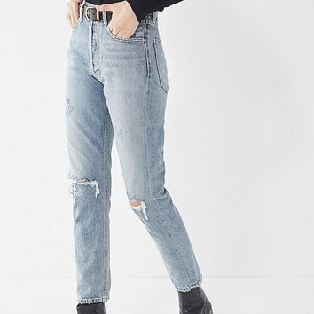 AGOLDE High-Rise Jamie Jean - Resolution | Urban Outfitters