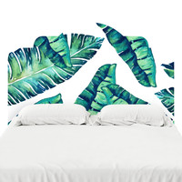 Tropical Glam Headboard Decal