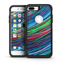 Colorful Strokes - iPhone 7 or 7 Plus Commuter Case Skin Kit
