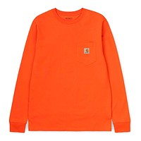 L/S Pocket T-Shirt in Clockwork